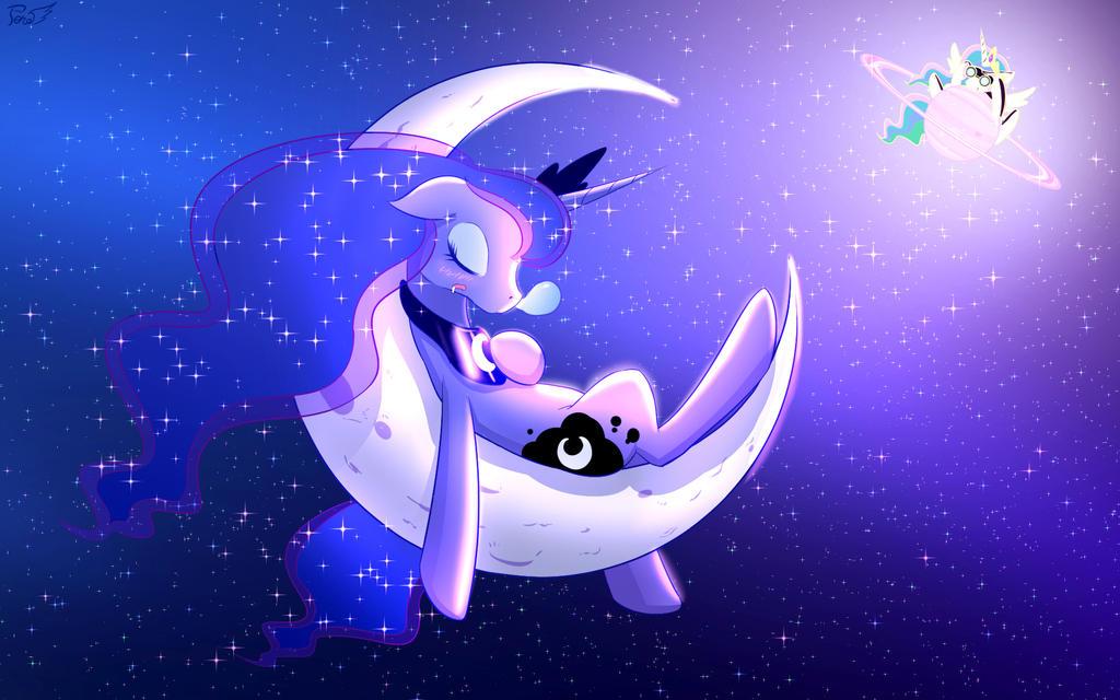Sleeping Luna by PhoenixPeregrine