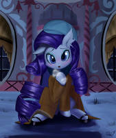 Date Night with Rarity by PhoenixPeregrine
