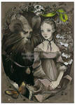 Beauty and the Beast - card