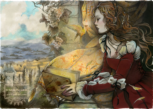 The Canary Prince folktale by nati