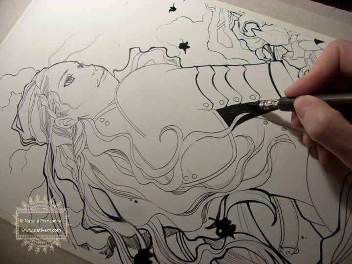 LOTR - Fan art - Work in progress by nati