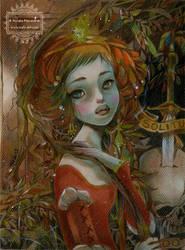 The Sad Princess by nati