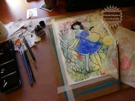 Kiki - Work in progress by nati