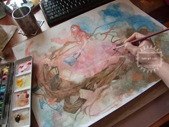 Travel through Wonderland - work in progress