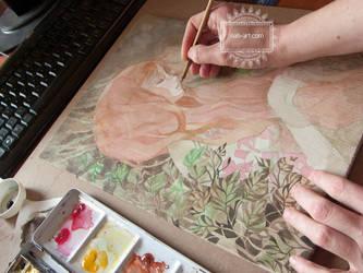 Blossom - In progress by nati