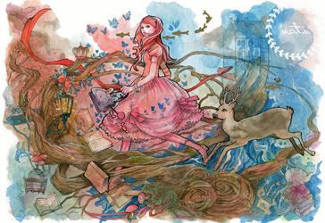 Travel through Wonderland