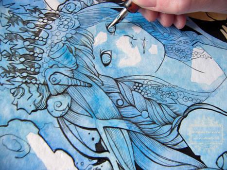 A Queen in Blue - Work in progress