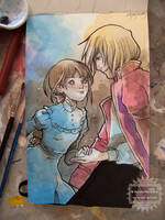 Fan-art and Moleskine by nati