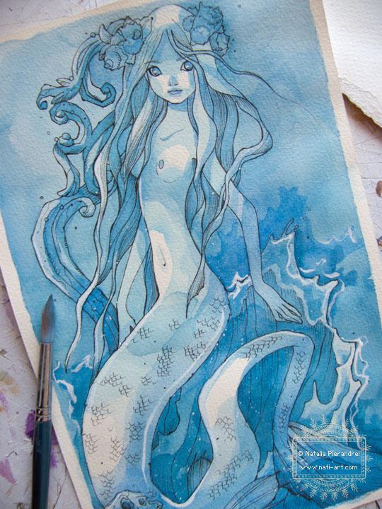 Blue Siren - wip by nati