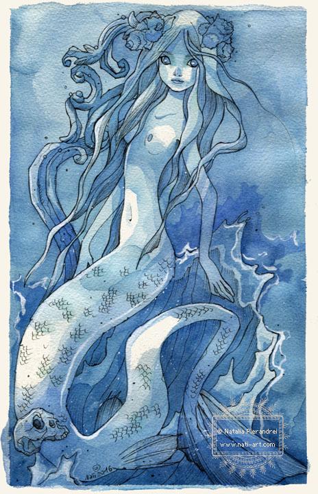 Blue Siren by nati