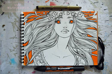 2017 Sketchbook - 15 by nati