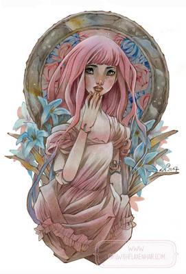 Stella - Pink Hair Doll