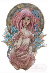 Stella - Pink Hair Doll by nati