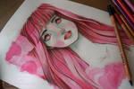 Pink Hair Girl - WIP