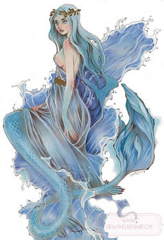 Aquamarine - Mermay 2017