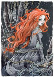 Merida - fan-art by nati