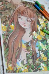 Yellow Flowers - WIP