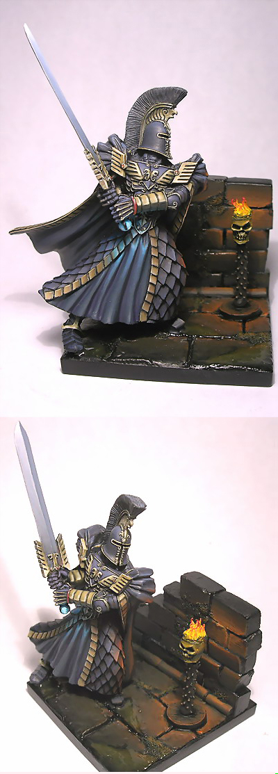 The Purple Knight by Ipnorospo