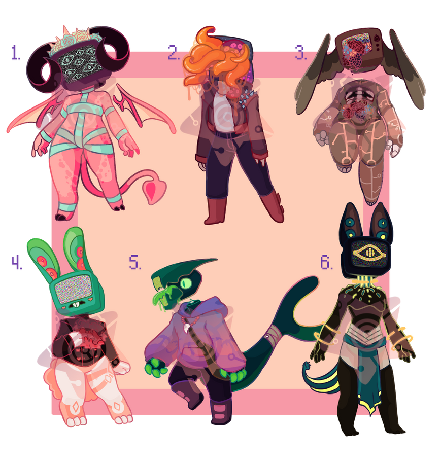 TV Head Adopts | CLOSE... Object Heads