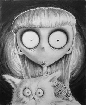Frankenweenie's Weird Girl.... and cat