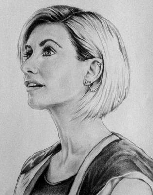 Jodie Whittaker as the Thirteenth Doctor by Run-from-the-sun