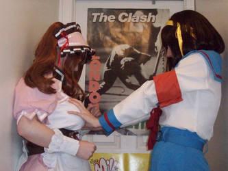 Mikuru and Haruhi 6 by SailorUsagiChan