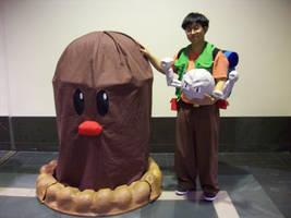 Brock Geodude and Diglet by SailorUsagiChan