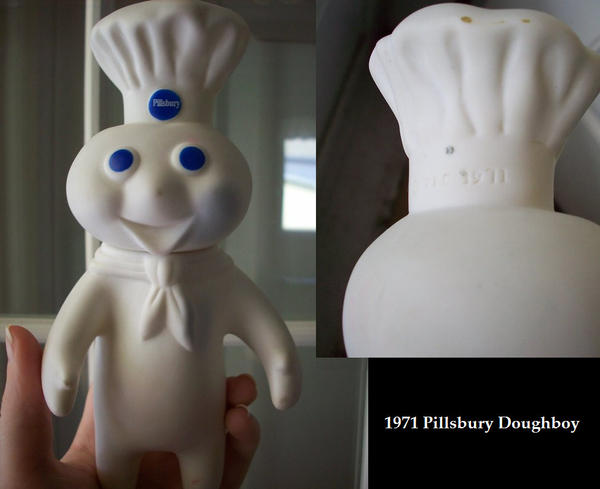 1971 Pillsbury Doughboy by SailorUsagiChan