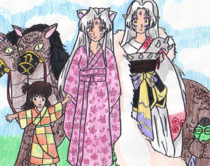 Sesshomaru Family Sesshomaru OC F...