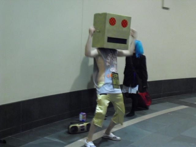 lmfao robot real face - photo #23