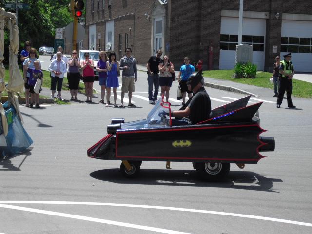 Batmobile by SailorUsagiChan