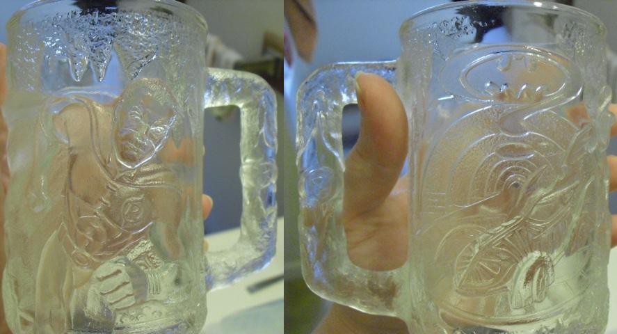 1995 Batman Forever Robin Glass Mug by SailorUsagiChan