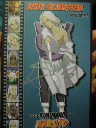Kimimaro Autograph by SailorUsagiChan