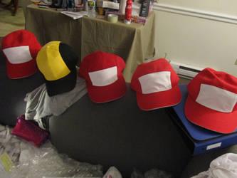 Pokemon Hat Commissions by SailorUsagiChan