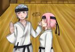 AT with Alena-chan - Hidan x Sakura
