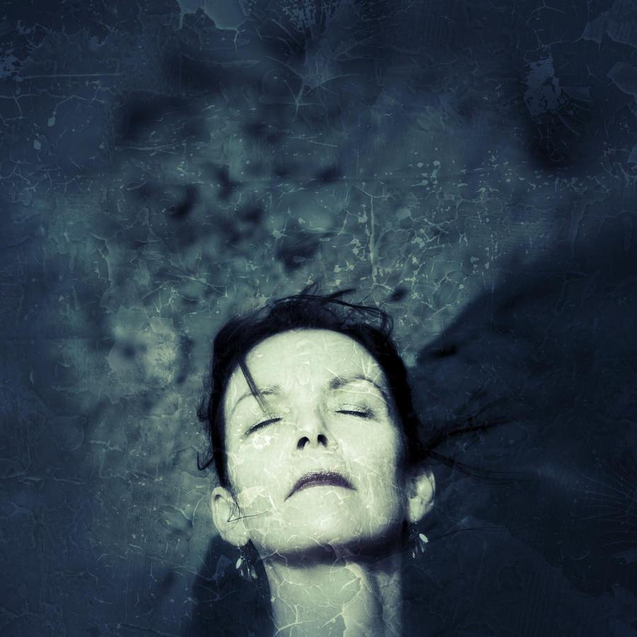 Blue Madonna by alisinwonder
