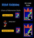 Glitch Keyblades