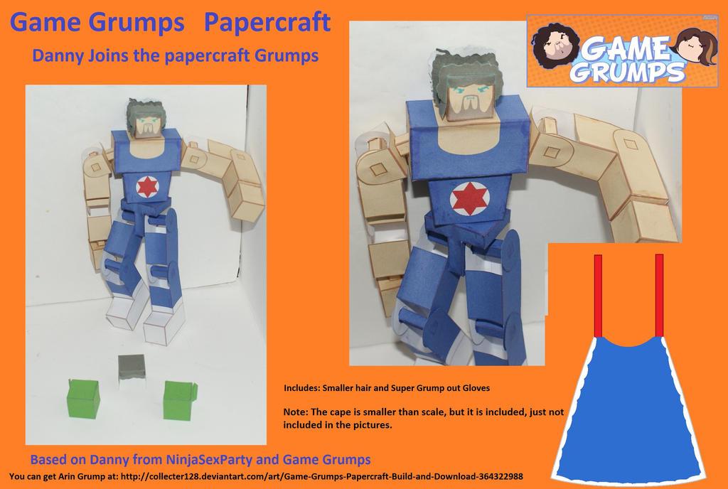 Game Grumps Dan Papercraft