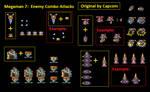 Megaman 7 Combo Attacks