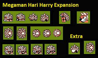 Megaman Hari Harry More Sprites