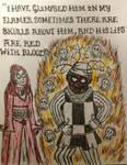 Melisandre's vision of Patchface