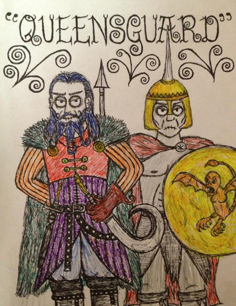 Daario Naharis and Grey Worm by timburtongot