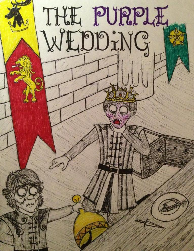 The Purple Wedding.The Purple Wedding By Timburtongot On Deviantart