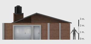 Draft Conservative Style House