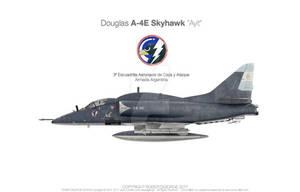Douglas A-4E Skyhawk Ayit