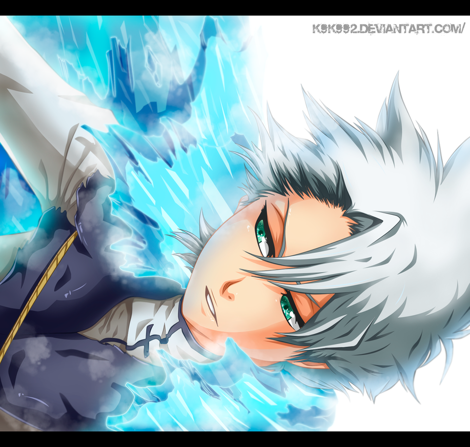 Toushirou Hitsugaya - bleach 659 by k9k992