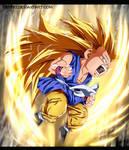 Kid Goku ssj 3 -Dragon Ball