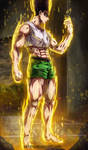 Gon Transformation - Hunter x Hunter by k9k992