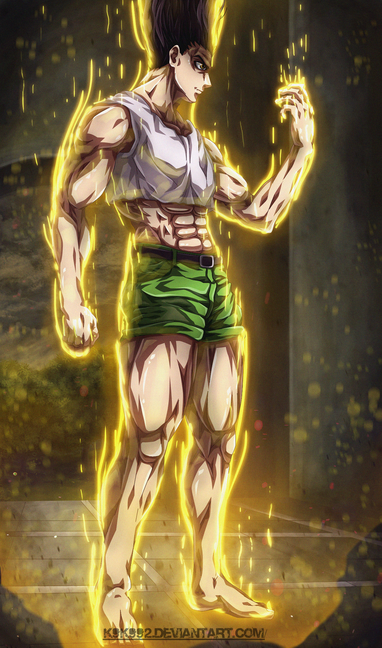 Gon Transformation Hunter X Hunter By K9k992 On Deviantart
