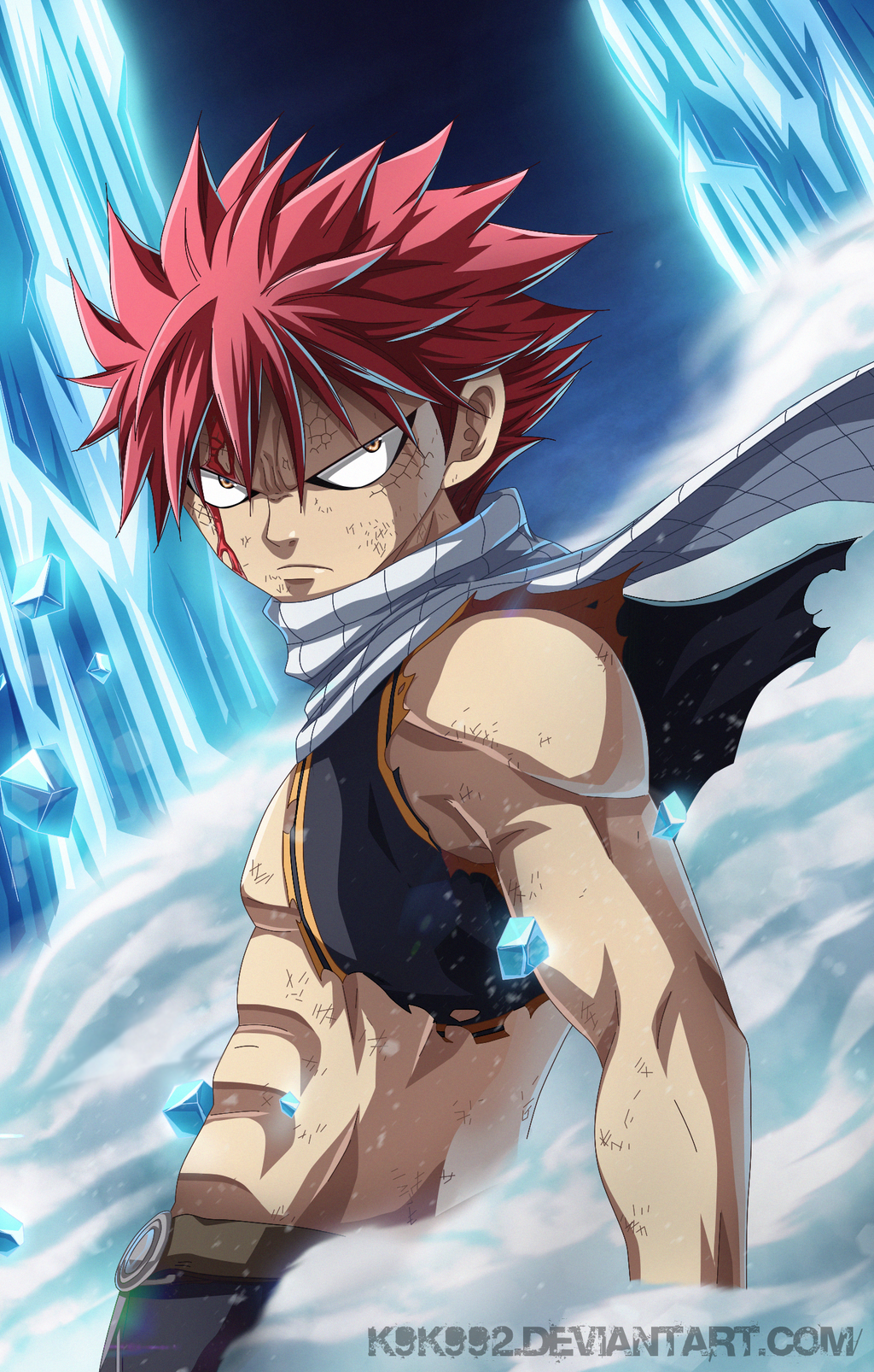 natsu dragon force fairy tail 98 by k9k992 on deviantart